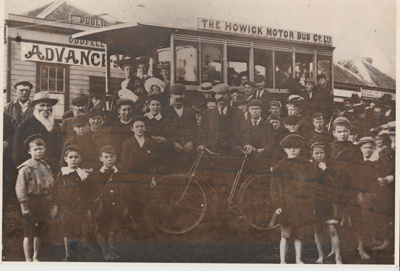 The first Howick Motor bus; 1904; 2017.490.03