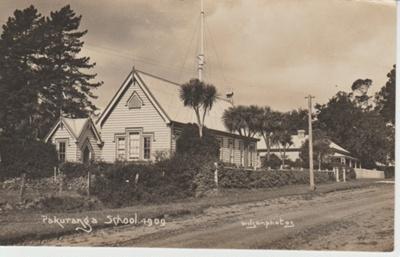 Pakuranga School with the Headmaster's house; Wilson, W T; 1914-1920; 2019.006.01