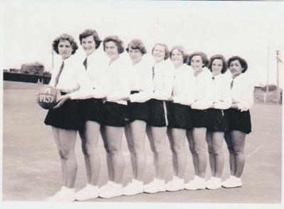 Howick District High School Basketball A team; 1951; 2019.071.49
