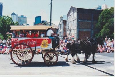 Horse bus, 1990; La Roche, Alan; c1990; 2017.455.46