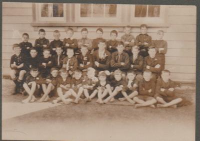 Pupils at Pakuranga School 1913-14; 1913-14; 2019.029.01