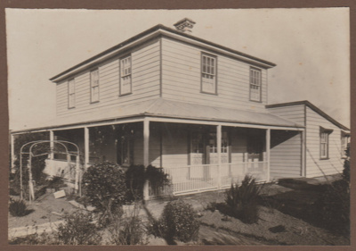Bell Homestead.; Collins, F, Dunedin; 2018.050.11