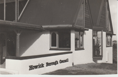 Howick Borough Council Offices.; Eastern Courier; 1/03/1969; 2018.047.04