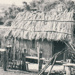 Front view of the mail runner's cottage at Howick Historical Village. ; La Roche, Alan; c1990; P2021.83.37