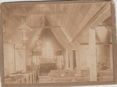 All Saints Church Interior; c1890; 2018.225.01