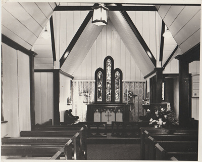 All Saints Church Interior 1976; 1976; 2018.228.04