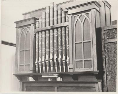 All Saints Church organ; Hattaway, Robert; 2018.227.03