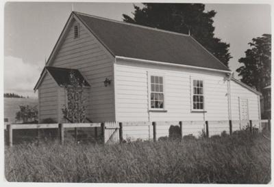 Brookby non sectarian church in 1991; La Roche, Alan; 1991; 2018.280.22