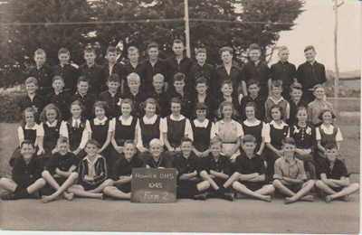 Howick District High School Form 2 , 1945; 1945; 2019.050.04