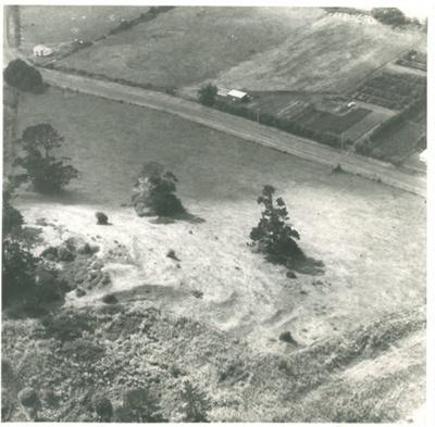Pigeon Mountain, aerial 17.2.1972; R.N.Z.A.F.; 17/02/1972; 2016.427.11