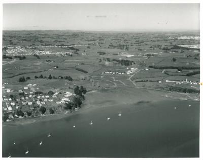 Half Moon Bay aerial; Whites Aviation; 26/07/1968; 2016.639.47