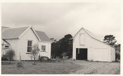 The Coachhouse in the Howick Historical Village.; Groethe. Julia; April 1978; P2021.23.03