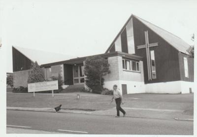 St Peter's Anglican Church, 1990; La Roche, Alan; 1/12/1990; 2018.280.28