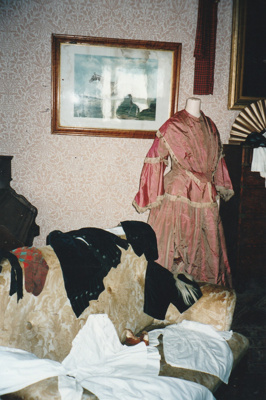 A display of gowns in Puhinui at HHV.; La Roche, Alan; 2003; 2019.229.08