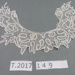 Battenburg Lace Collar ; T.2017.149