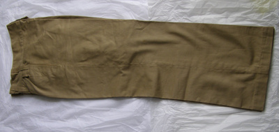 NZ Army Uniform Trousers; Unknown; 1939-1945; T2015.24.3.1
