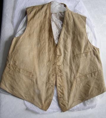 Waistcoat; Unknown; 1870-1900; T2015.4