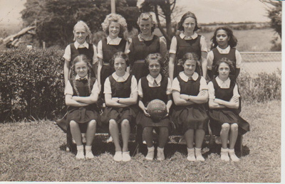 Howick District High School Primary B Basketball team; 1946; 2019.071.48