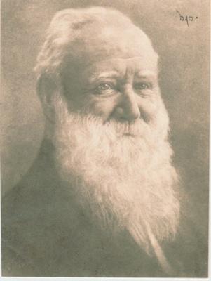 Alfred Geering, Howick Town Clerk; 2018.349.01