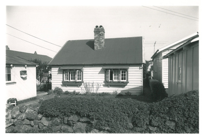 Fencible cottage at 40 Galway Street, Onehunga; 1963; 2017.155.37