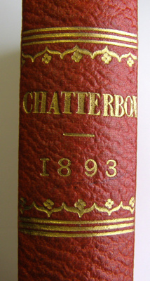 Chatterbox, 1893 Edited by J. Erskine Clarke, M. A...