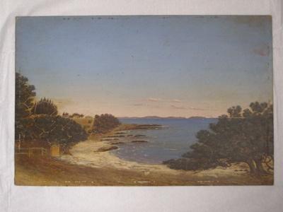 Oil painting; Col. Arthur Morrow (1842-1937); 2010.81.1