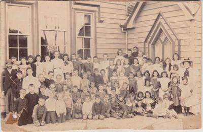 Pakuranga School children, 1896-7; 1896-7; 2019.015.02