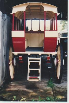 Horse bus in HHV; La Roche, Alan; c1990; 2017.455.50
