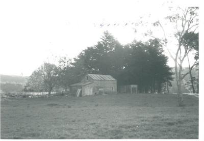 Broomfields barn on the Boyd-Dunlop farm; La Roche, Alan; 1972; 2017.095.54