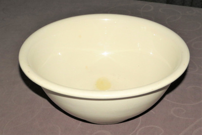 Mixing bowl from Simla , Col Morrow's home. Made...