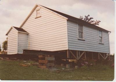 Sergeant Barry's cottage; La Roche, Alan; 1/11/1979; 2019.092.07