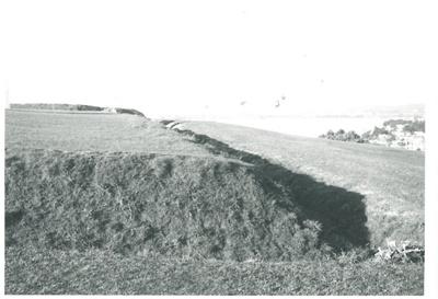 Deep trenches on Stockade Hill; La Roche, Alan; 1970?; 2016.311.70