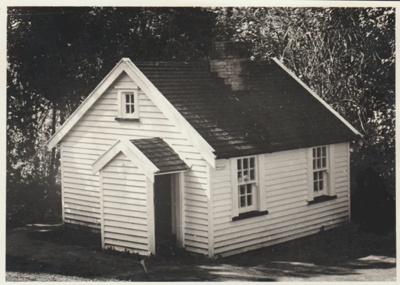 Miniature replica of a Fencible pensioner's cottage; 1967; 2019.091.23