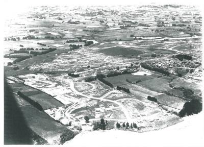 Aerial view of Pakuranga c.1970; Whites Aviation; c1970; 2016.494.105