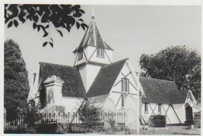 The north face of All Saints Church; La Roche, Alan; 2018.217.92