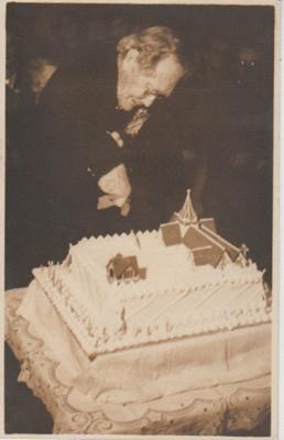 Margaret Litten, the oldest Anglican parishioner; 4/11/1947; 2018.377.02