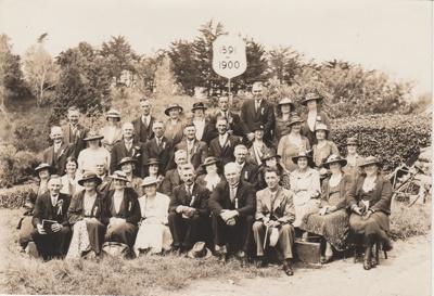 Pakuranga School Reunion, 1936; Heimbrod, G K, Newton, Auckland; 1936; 2019.013.03