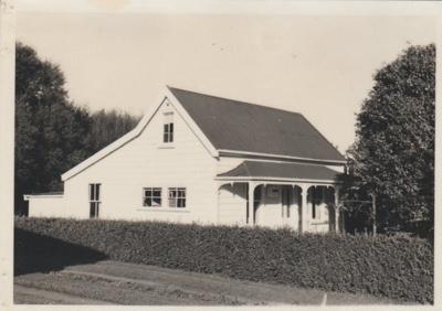 Thomas Heath's Fencible cottage; La Roche, Alan; 1968; 2018.078.01