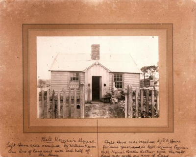 Bell Keenan's House, Picton St, Howick. A fencible...