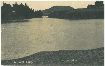 The Tamaki River entrance to Panmure Lagoon; Wilson, W T; 1929; 2017.245.00
