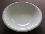 White Ceramic washstand bowl; J & G Meakin; O2017.100.03
