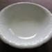 White Ceramic washstand bowl; J & G Meakin; O2017.100.03