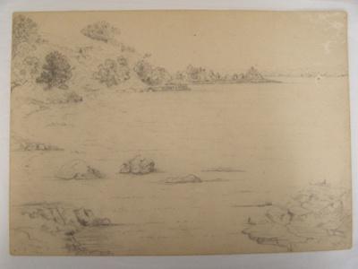 Pencil Sketch; Col. Arthur Morrow (1842-1937); 2010.49.1