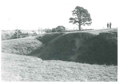 Eastern bastion on Stockade Hill; La Roche, Alan; 1970; 2016.311.66