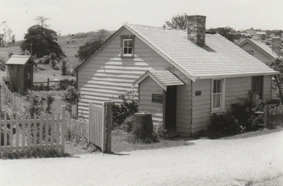 Maher-Gallagher Cottage in the Howick Historical Village.; November 1983; P2020.91.08