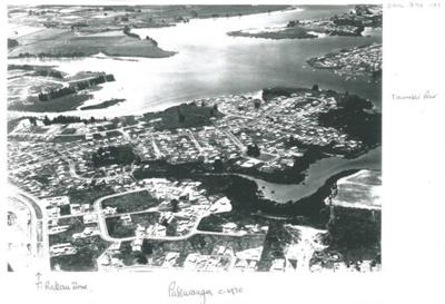 Aerial view of Pakuranga c.1970; Whites Aviation; c1970; 2016.494.101