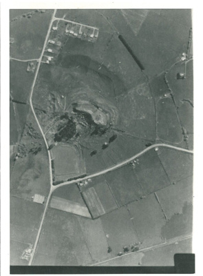 Aerial view of Pigeon Mountain; New Zealand Aerial Mapping; 1967; 2016.426.10