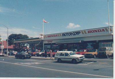 Kerr Honda Motors premises; La Roche, Alan; 2017.408.13