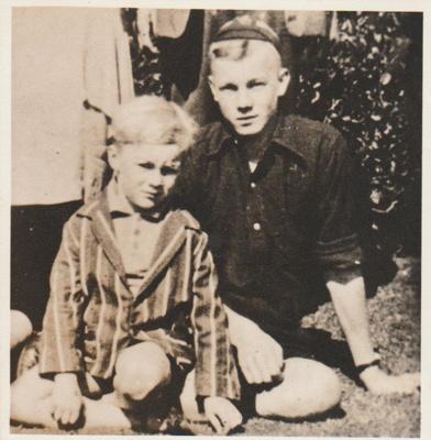 Robert and Selwyn Hattaway, 1931; 1931; 2018.364.13
