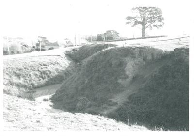 Eastern bastion on Stockade Hill; La Roche, Alan; Aug, 1969; 2016.311.65